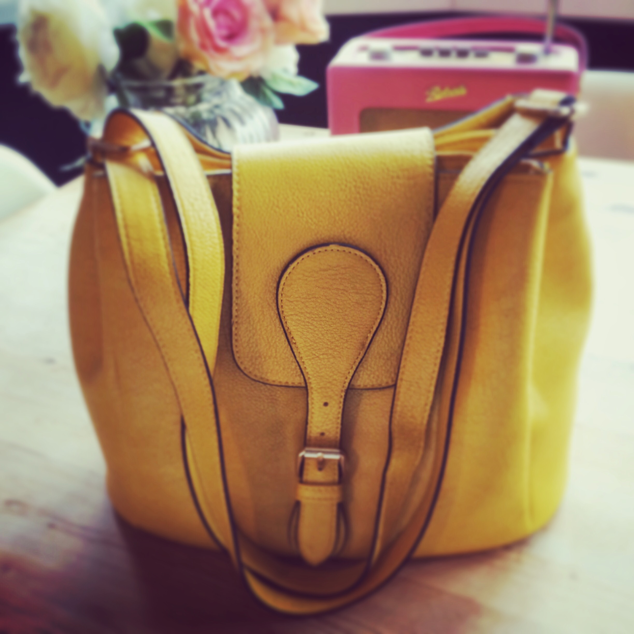 Yellow bag new