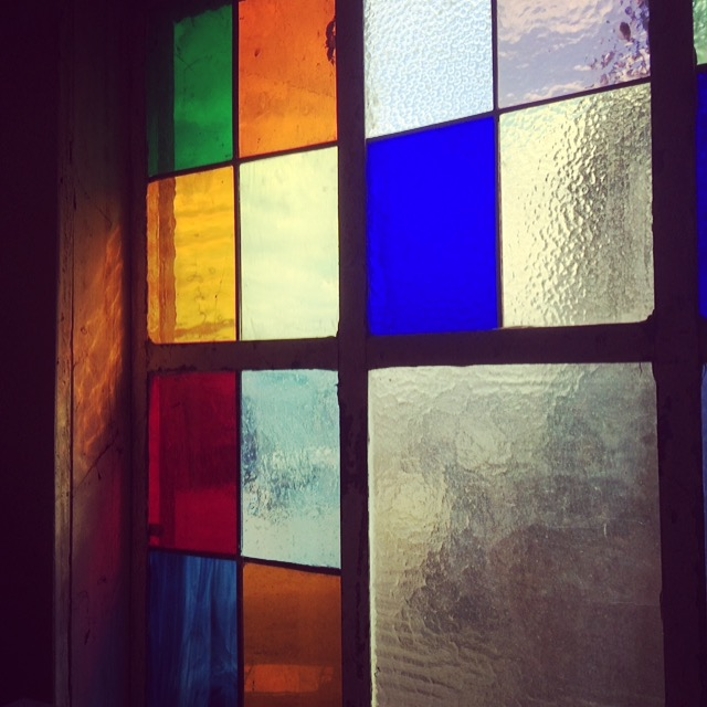 Reclaim stained glass